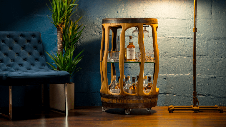 This Whisky Cart Is Unlike Anything You've Seen Before