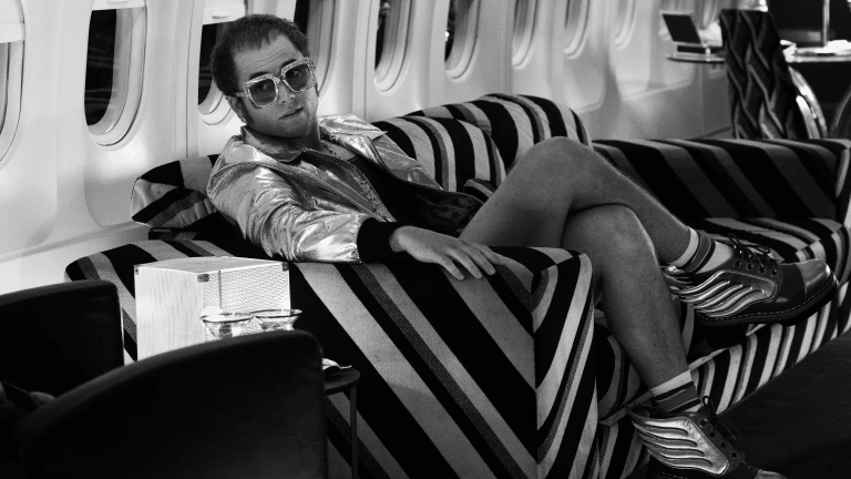'Kingsman' Star Taron Egerton Takes Flight in 'Rocketman' Trailer