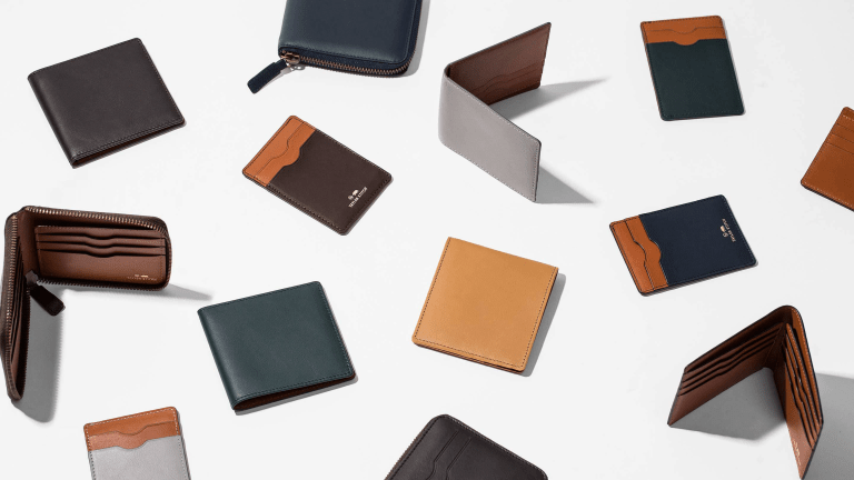 These Gorgeous Leather Wallets Relieve the Tyranny of Black and Brown