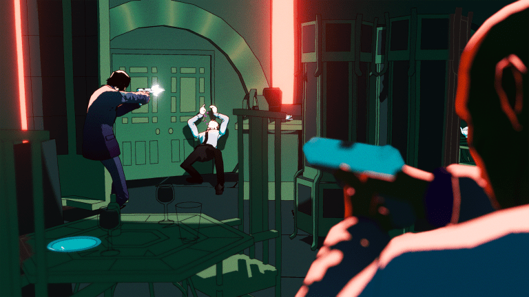 Upcoming 'John Wick' Video Game Features Gorgeous Noir Art Design