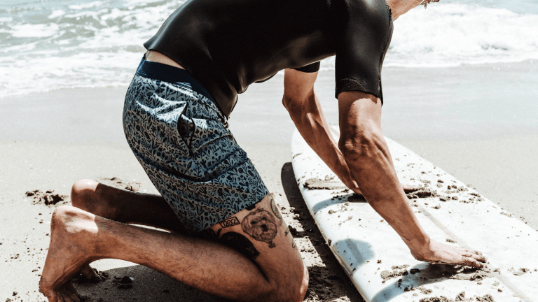 Taylor Stitch's New Boardshorts Will Have You Shouting 'Surf's Up!'