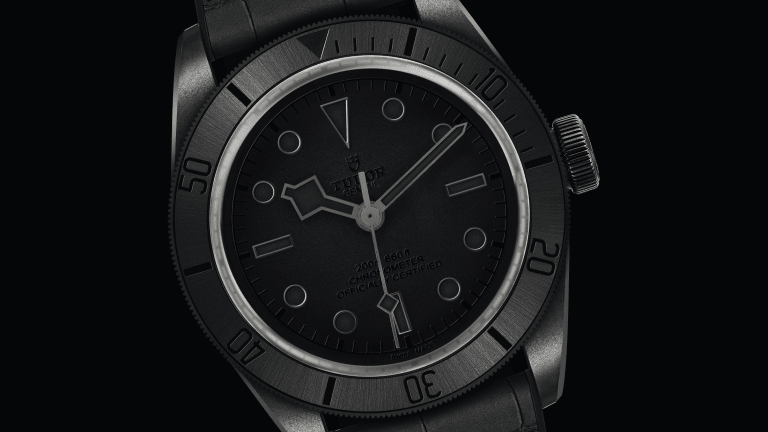 The Tudor Black Bay Ceramic One Is a Stealthy Stunner