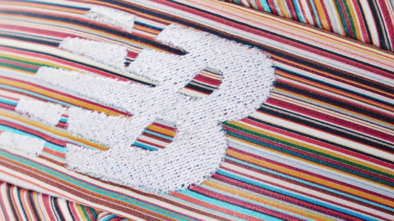 New Balance and Paul Smith Join Forces on Signature Stripe Soccer Ball