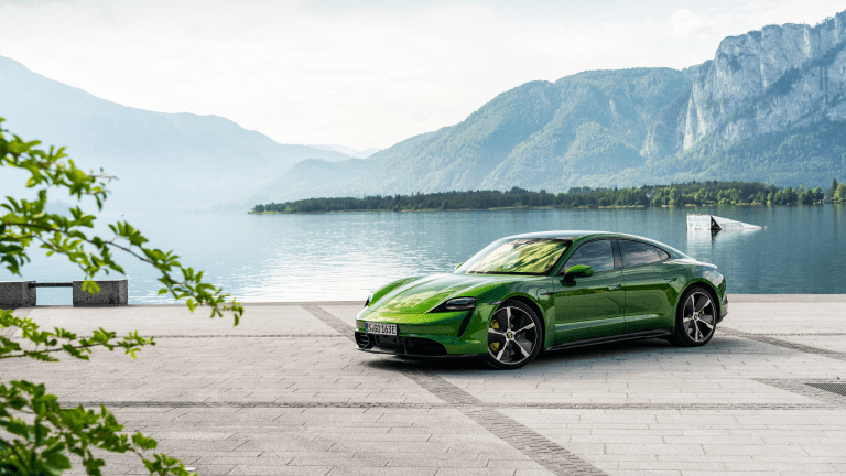20 Fresh Photos of the All-Electric Porsche Taycan