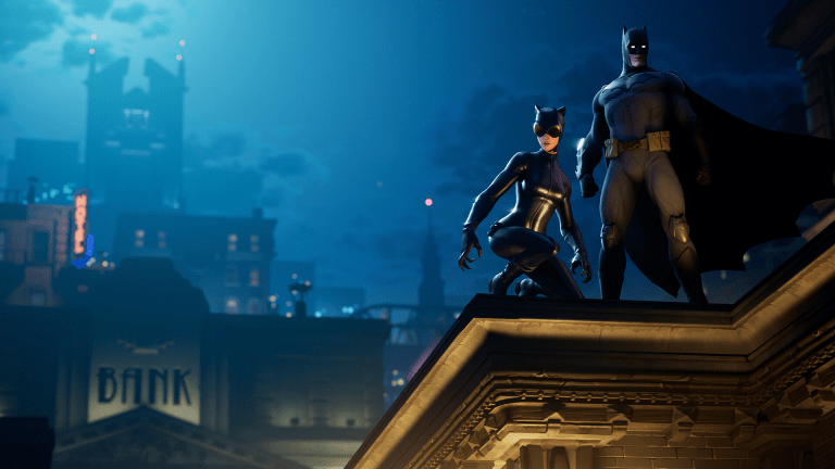 Batman Joins the 'Fortnite' Fun