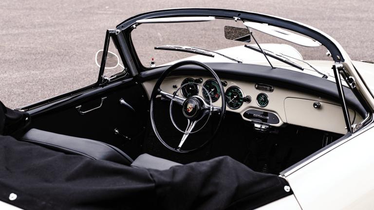 Car Porn: 1961 Porsche 356 B Super 90 Cabriole