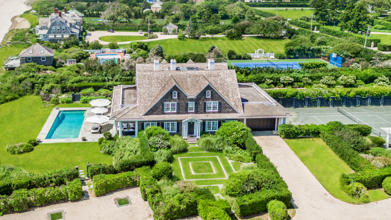 Channel Bobby Axelrod With This Extravagant Southampton Home for Sale