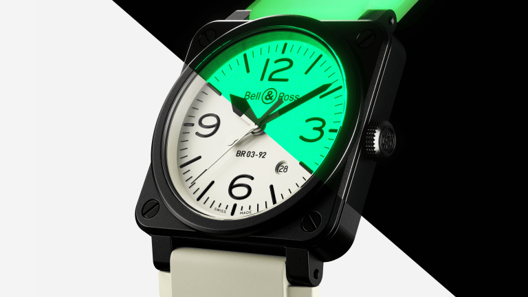 New Bell & Ross BR03-92 Full Lum Is Unlike Anything You've Seen Before