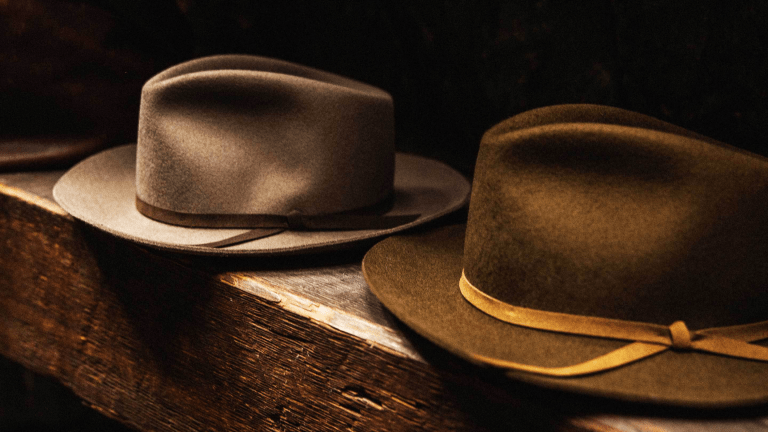 These Crushable Wool Felt Fedoras Really Go the Distance