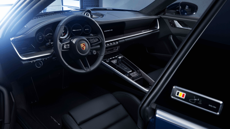 Porsche's First Special Edition 992 Pays Tribute to a Formula 1 Legend