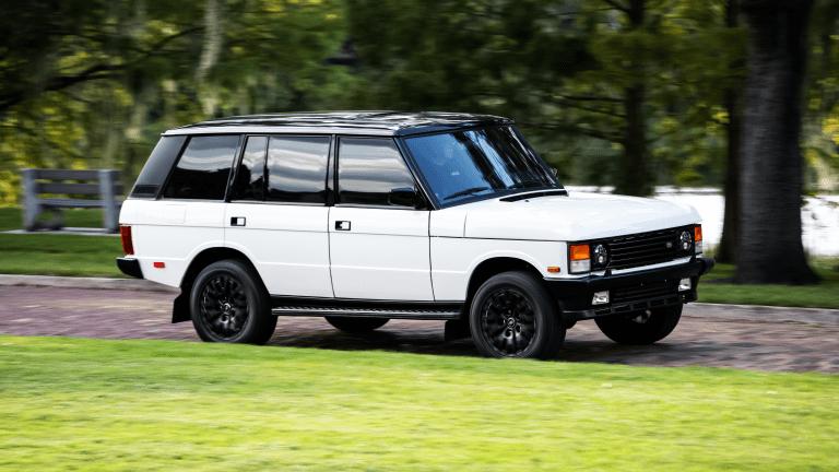 Car Porn: Custom 1995 Range Rover Classic