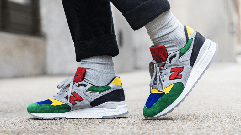 Todd Snyder and New Balance Unveil Colorful Collab