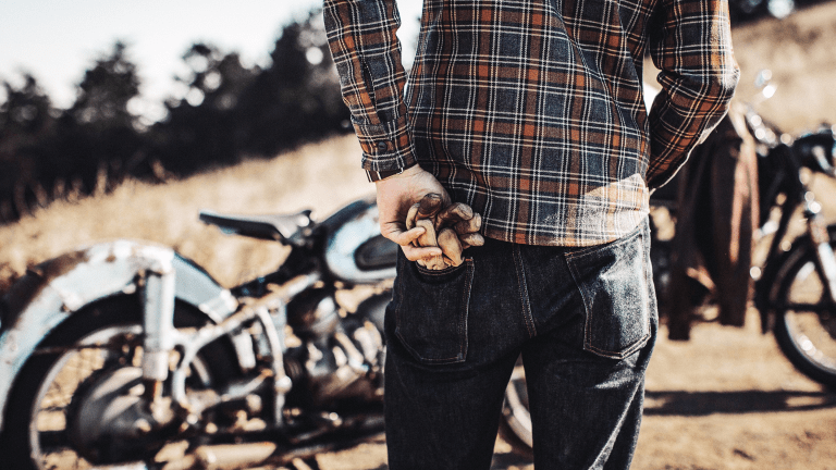 Ride On With These Organic Cotton Moto-Inspired Flannel Shirts