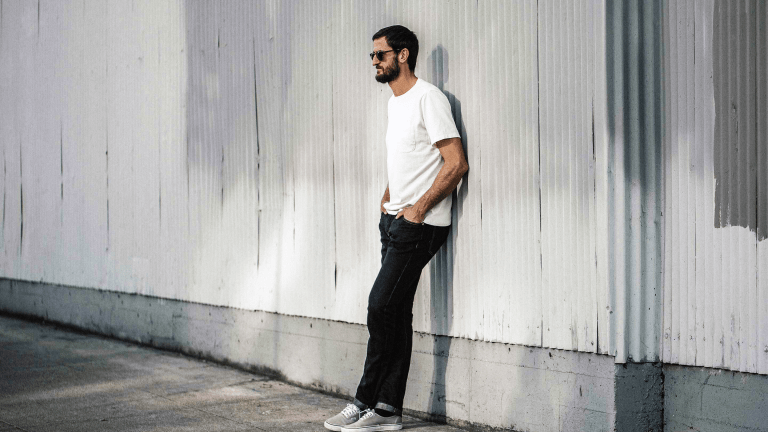 These Linen and Cotton Selvage Jeans Might Just Change Your Life