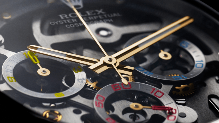 This Solid Gold Skeleton-Dial Rolex Daytona Is So Pretty It Hurts