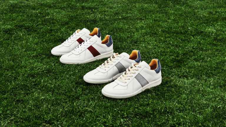 Celebrate Your Real Madrid or FC Barcelona Love With These Luxe New Sneakers