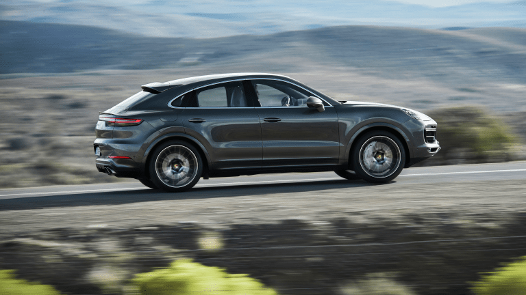 The Porsche Cayenne Coupe Is Here—And Gorgeous