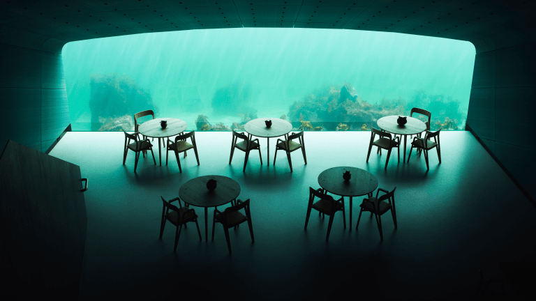 Inside Europe's First Underwater Restaurant