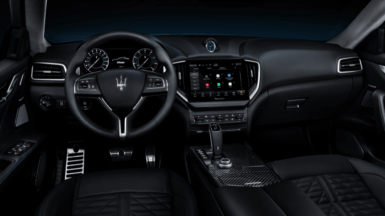 The First Electrified Maserati Has Arrived