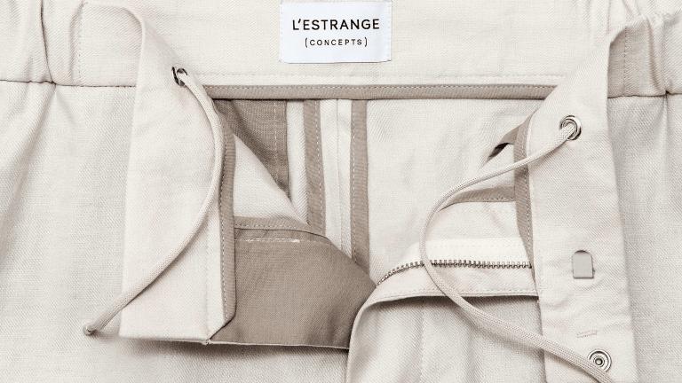 L'Estrange London Launches the Perfect Linen Trouser