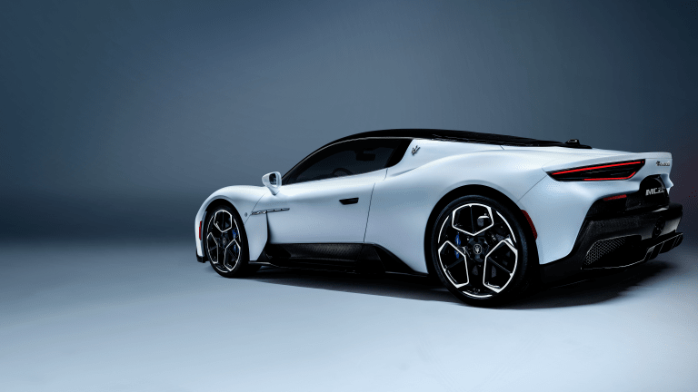 Maserati Unveils the Eye-Popping MC20 Supercar