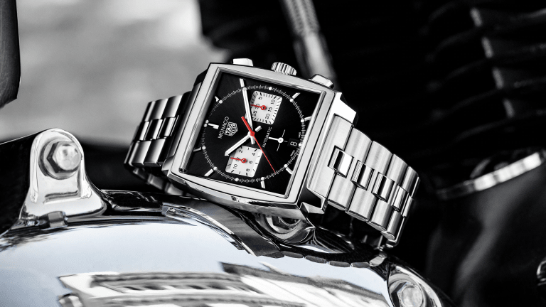The TAG Heuer Monaco Gets a Handsome New Bracelet