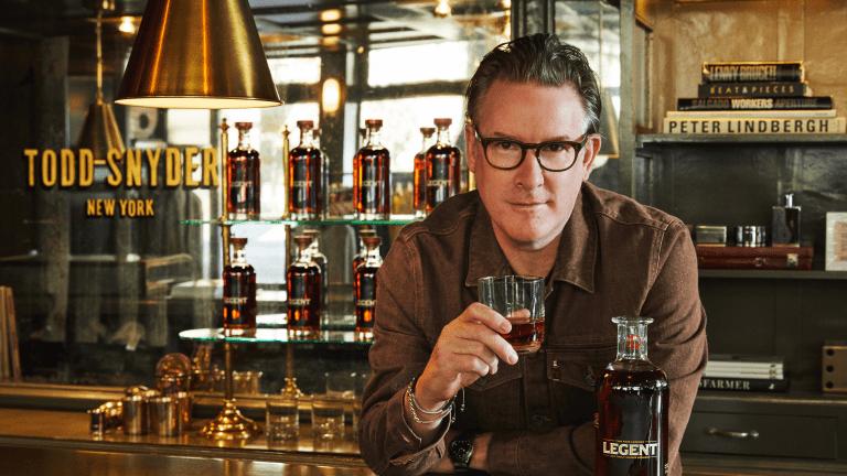 Todd Snyder Links Up With Legent on a Bourbon-Inspired Denim Jacket