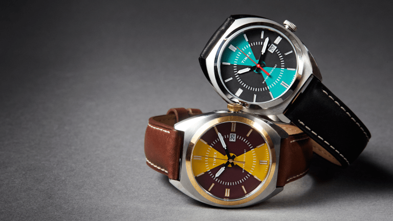 Todd Snyder x Timex Impress With New Colorblock Milano Watch