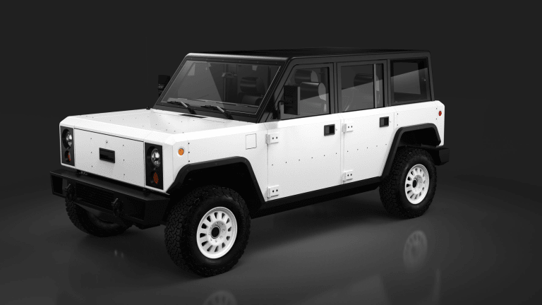 Bollinger Previews the Production Model of the All-Electric B1