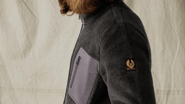 Belstaff's Classic Fleece Jacket Is Over 30% Off Right Now