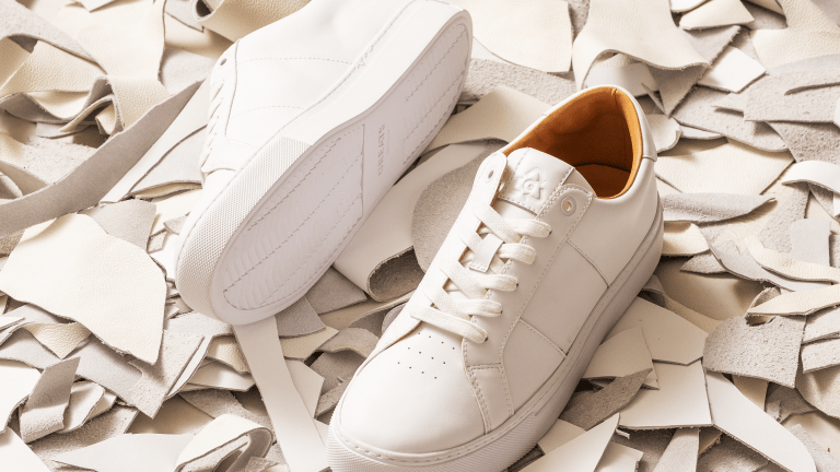GREATS Updates the Royale Sneaker in Recycled Leather