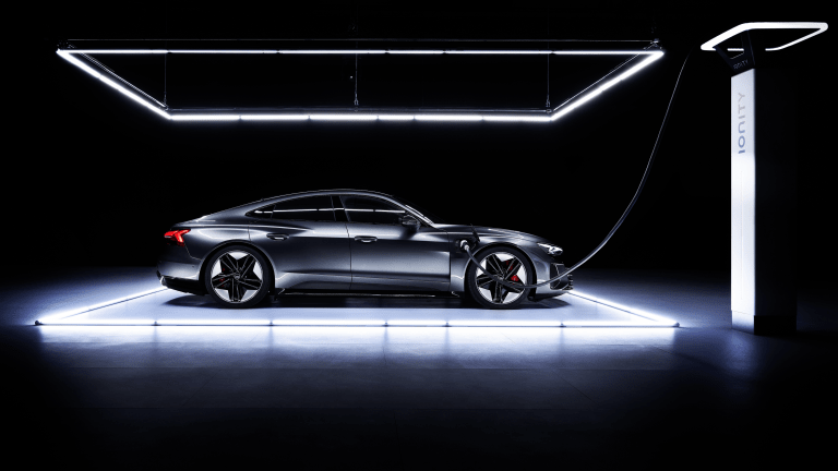 The New Audi e-tron GT Is a Thing of All-Electric Beauty
