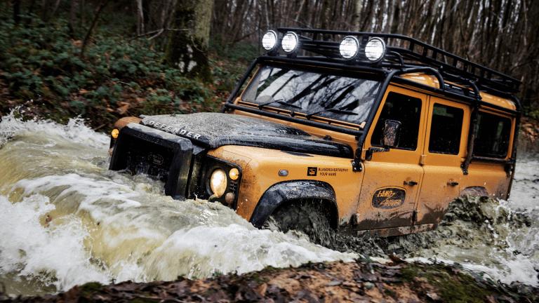 Land Rover Reveals Special Edition Defender Works V8 Trophy