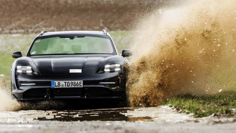 Porsche Previews the Upcoming Taycan Cross Turismo