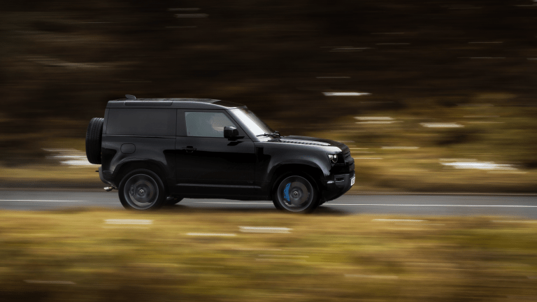 Feast Your Eyes on the New Land Rover Defender V8