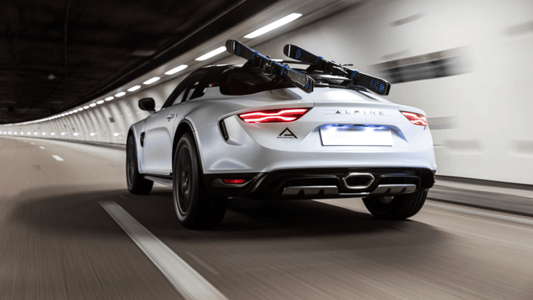 Feast Your Eyes on the Rally-Inspired Alpine A110 SportsX Concept