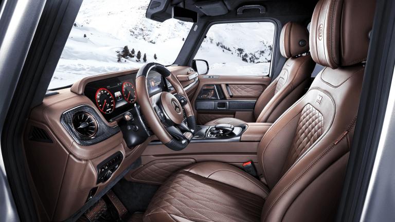Brabus Debuts Beastly Custom Mercedes-AMG G-Wagen