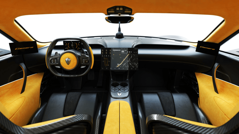 The New Koenigsegg Gemera Is Dripping With Sex Appeal