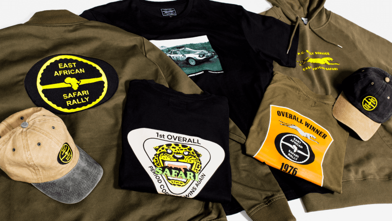 Period Correct Launches East African Safari Rally Collection