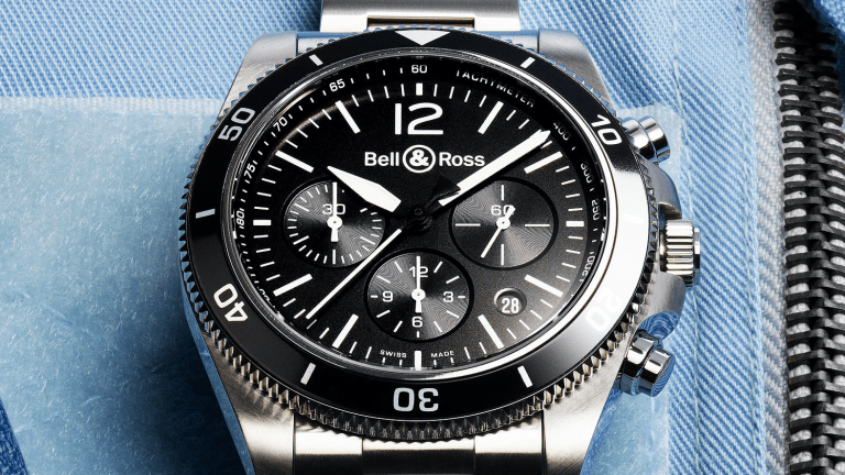 Bell & Ross Debuts Handsome New Chronograph