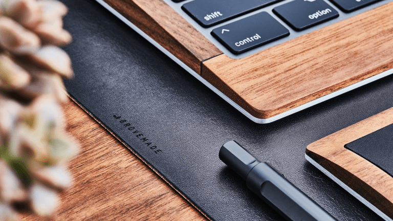 Grovemade's New Leather Desk Pad Is the Real Deal