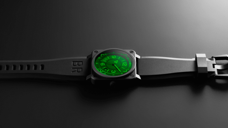 Bell & Ross Unveils Avante-Garde Watch Inspired by Fighter Jet HUD Systems