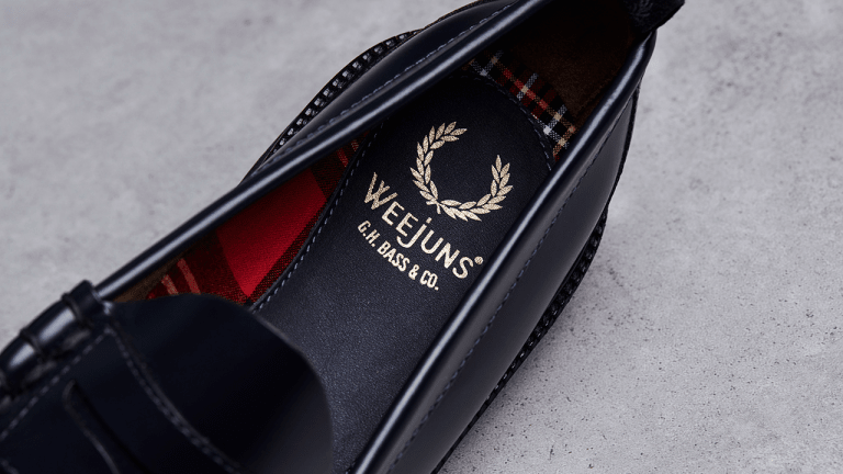 G.H. Bass x Fred Perry Release the Loafers of the Season