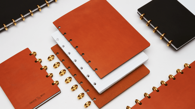 Grovemade Releases Workspace-Upgrading Leather Notebooks