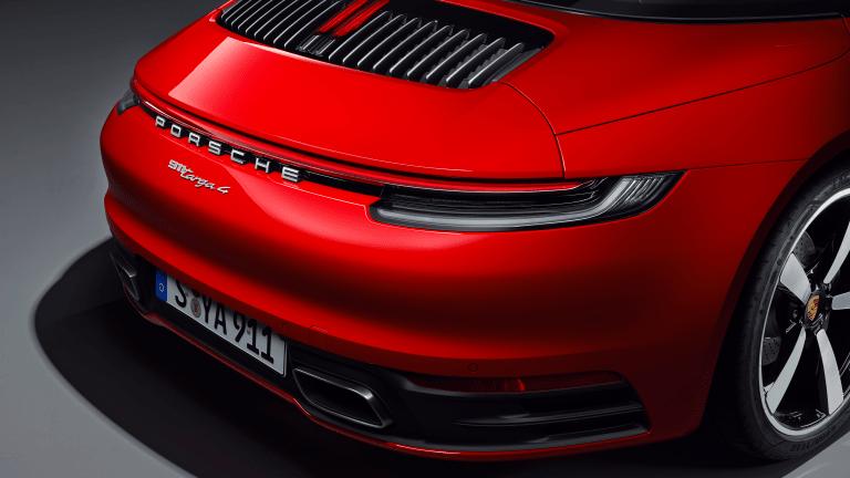 Porsche Unveils New 911 Targa and Targa 4S