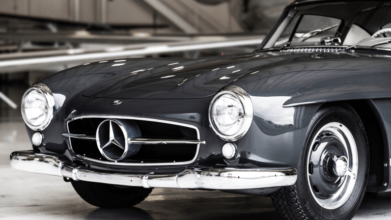 Car Porn: 1956 Mercedes-Benz 300SL Gullwing