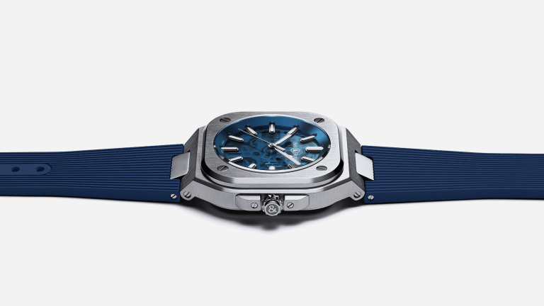 Bell & Ross Launches the BR 05 Skeleton Blue