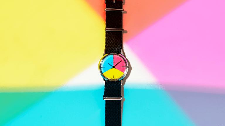Todd Snyder x Timex Introduce Sleek Pride Watch