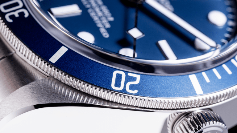 Tudor Unveils Black Bay Fifty Eight in Navy Blue
