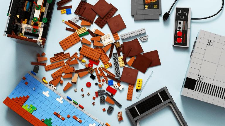 LEGO x Nintendo Unveil NES Build